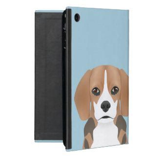 ビーグル犬の漫画 iPad MINI ケース