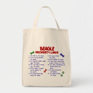 ビーグル犬の特性の法律2 トートバッグ