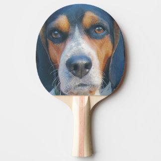 ビーグル犬の相棒 卓球ラケット