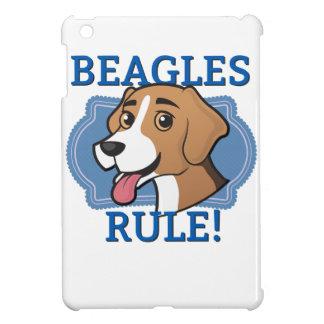 ビーグル犬の規則! iPad MINI CASE