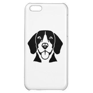 ビーグル犬の頭部の顔 iPhone5C