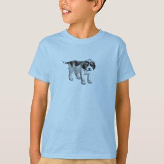 ビーグル犬のPupppyのティー Tシャツ