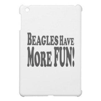 ビーグル犬はより多くの楽しい時を過します! iPad MINIカバー