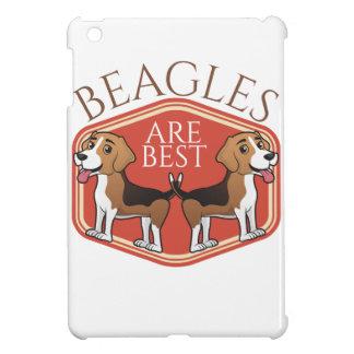 ビーグル犬は最も最高のです iPad MINI カバー