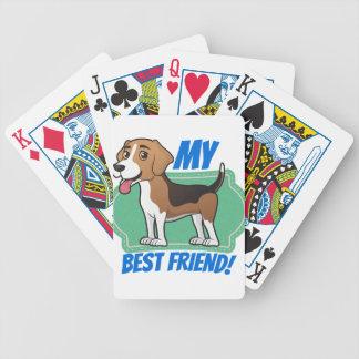 ビーグル犬は私の親友です バイスクルトランプ