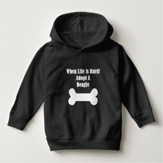 ビーグル犬を採用して下さい パーカ