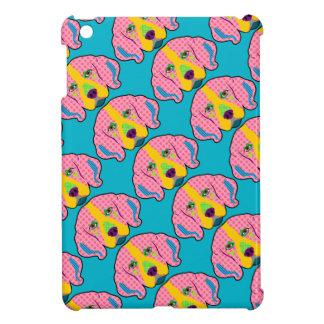 ビーグル犬パターンポップアート iPad MINIケース