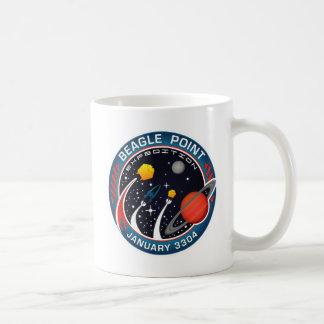 ビーグル犬ポイント探険の記念するマグ コーヒーマグカップ