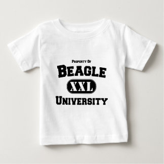 ビーグル犬大学の特性 ベビーTシャツ