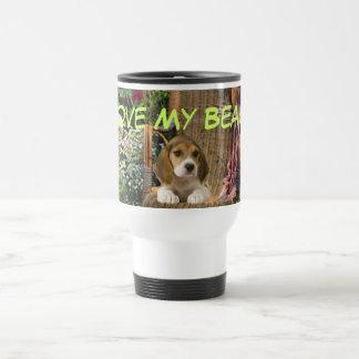 ビーグル犬愛タンブラー トラベルマグ