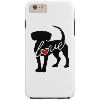 ビーグル犬愛 TOUGH iPhone 6 PLUS ケース
