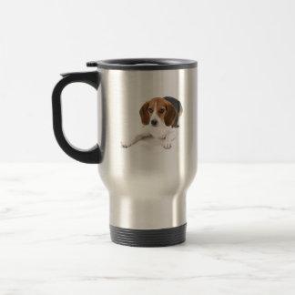 ビーグル犬犬のステンレス製のタンブラー トラベルマグ