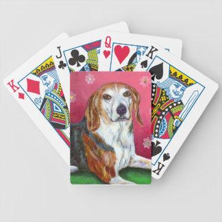 ビーグル犬犬のトランプ バイスクルトランプ