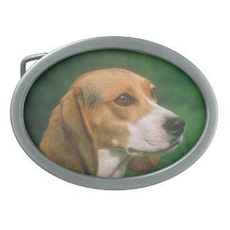 ビーグル犬犬のベルトの留め金 卵形バックル