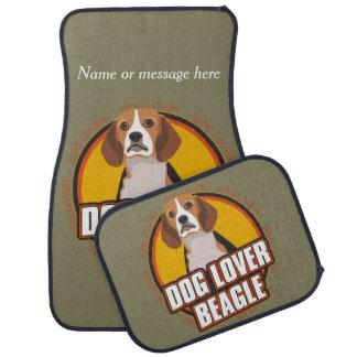 ビーグル犬犬の品種恋人の名前をカスタムする カーマット