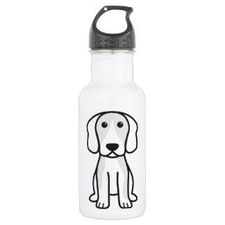 ビーグル犬犬の漫画 ウォーターボトル