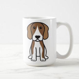 ビーグル犬犬の漫画 コーヒーマグカップ