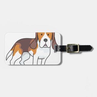 ビーグル犬犬 ラゲッジタグ