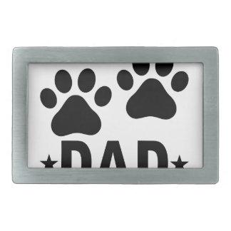 ビーグル犬犬DAD.png 長方形ベルトバックル