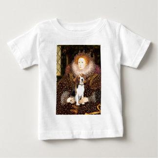 ビーグル犬1 -エリザベス女王一世 ベビーTシャツ
