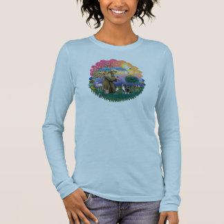 ビーグル犬1 長袖Tシャツ