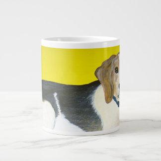 ビーグル犬 ジャンボコーヒーマグカップ