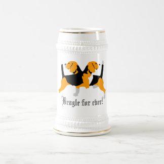 ビーグル犬 ビールジョッキ