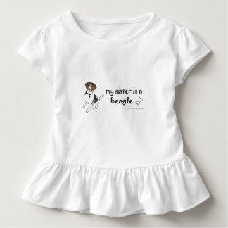 ビーグル犬-多くは繁殖します トドラーTシャツ