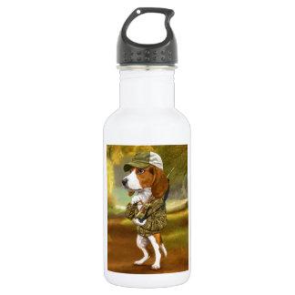 ビーグル犬-強大なハンター ウォーターボトル