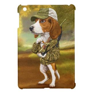 ビーグル犬-強大なハンター iPad MINIカバー
