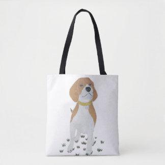ビーグル犬、犬、モダン トートバッグ