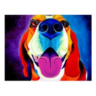 ビーグル犬#3 ポストカード