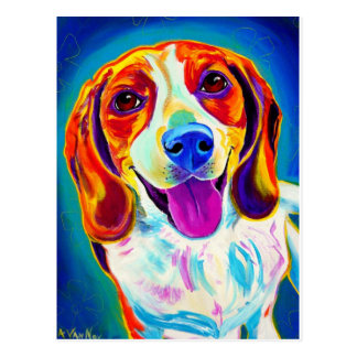 ビーグル犬#6 ポストカード