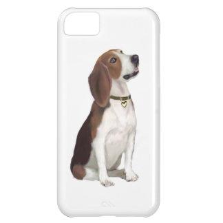 ビーグル犬(b) -調べること iPhone5Cケース