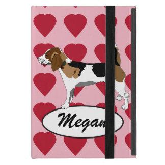 ビーグル犬Iのパッドの箱 iPad MINI ケース