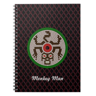 ビーズ猿 ノートブック