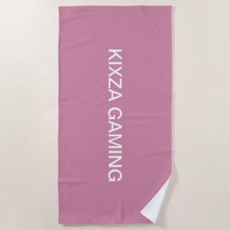 ビーチおよびシャワーのためのkixzaの賭博タオル ビーチタオル