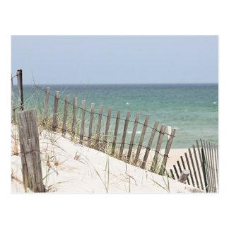 ビーチおよび砂丘の写真 ポストカード