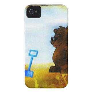 ビーチくま Case-Mate iPhone 4 ケース