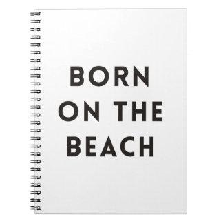 ビーチで生まれて下さい ノートブック