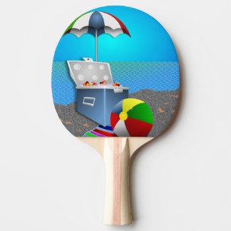 ビーチのおもしろい ピンポンラケット