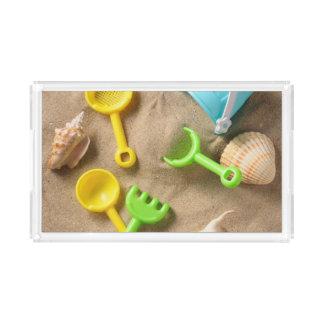 ビーチのおもちゃ アクリルトレー