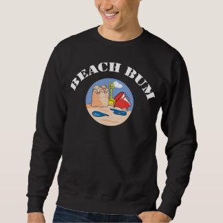ビーチのつまらない子供 スウェットシャツ