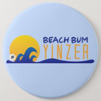 ビーチのつまらないYinzerメガYinz Pin 缶バッジ
