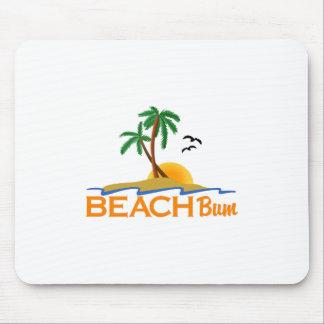 ビーチののらくら者 マウスパッド