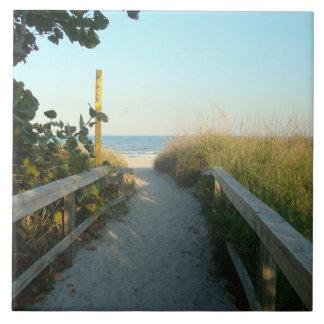 ビーチのアクセスのタイル- lg タイル