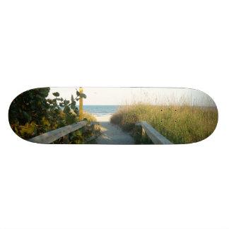 ビーチのアクセス カスタムスケートボード