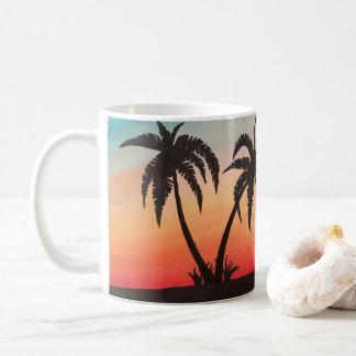 ビーチのオートバイ コーヒーマグカップ
