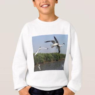 ビーチのカモメ スウェットシャツ