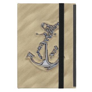 ビーチのクロムロープのいかり iPad MINI ケース